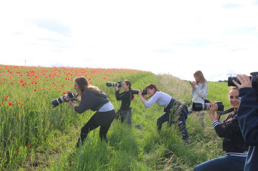 Teilnehmer Pferdefotografie Workshop Teil I